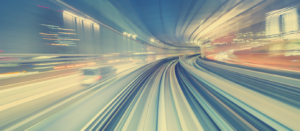 Railway in transit