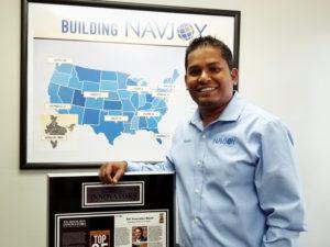 Navin Nageli Holding Plaque