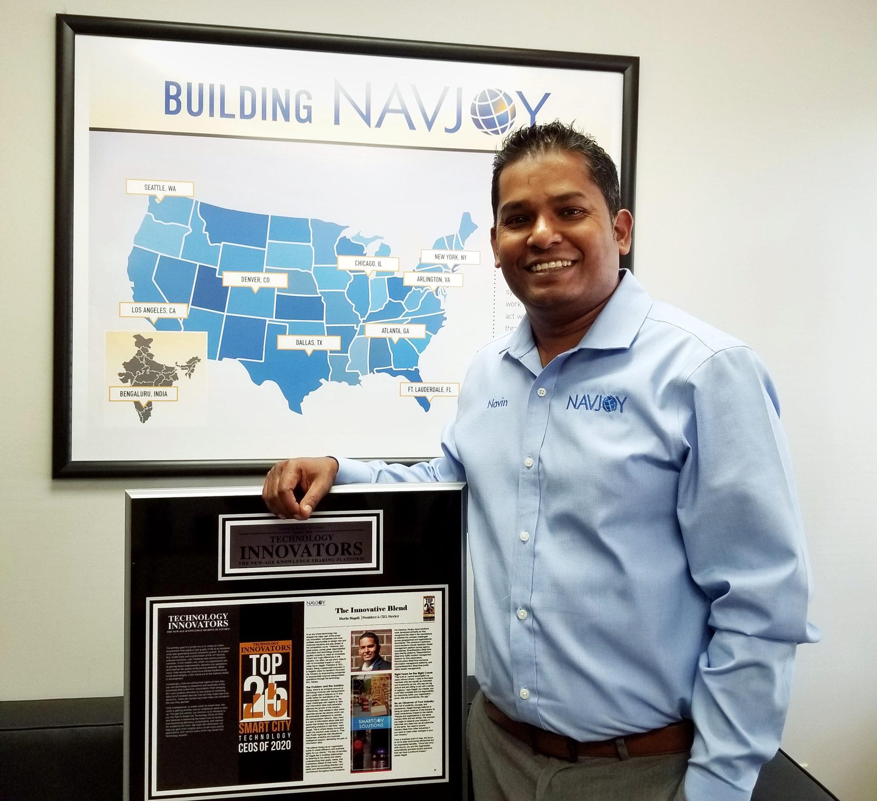 Navin Holding Plaque