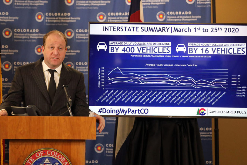 Governor Polis Covid Conference