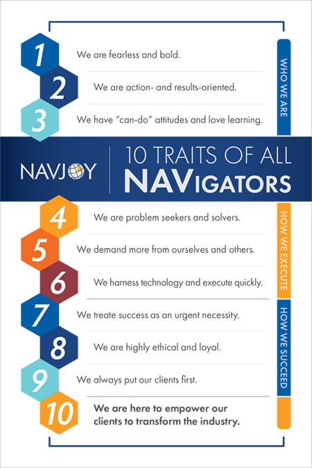 10 Traits of All Navigators