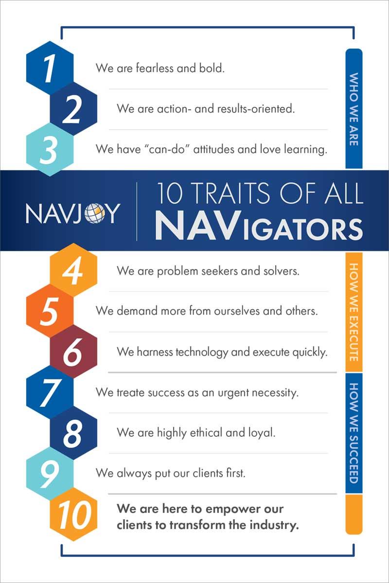 10 Traits of All Navigators