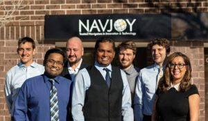Navjoy managers working together to achieve a transformation of transportation.