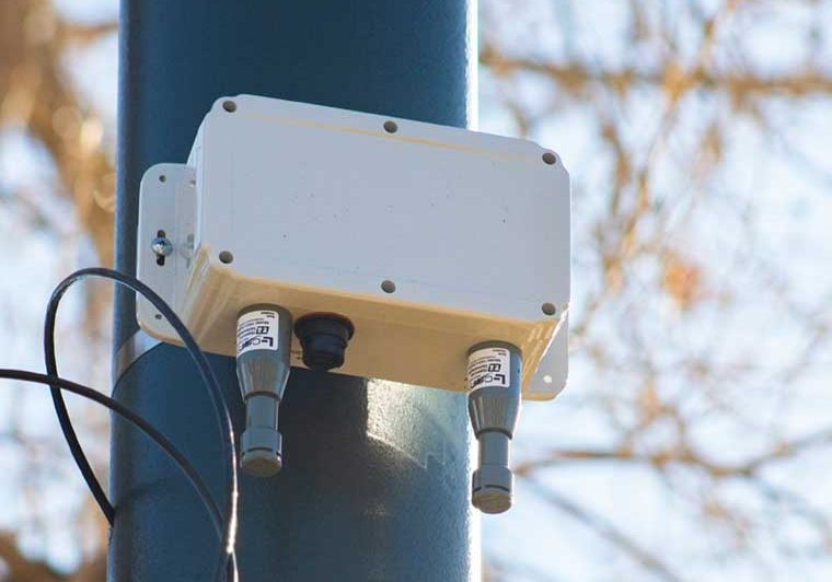 BlueTOAD Bluetooth travel time sensor