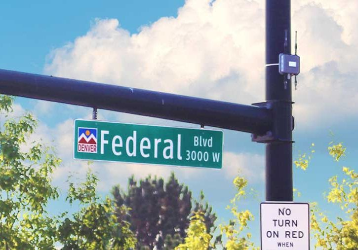 Bluetooth devices deployed on Federal Boulevard